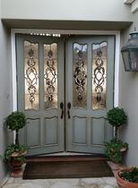 custom paint finish on entry doors