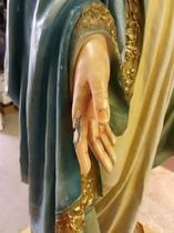 Catholic statue restoration