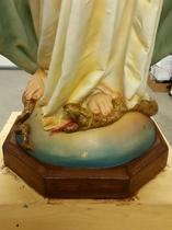 Daprato Rigali statue restoration