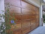 garage door faux wood finish