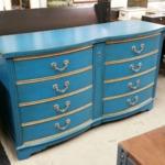 vintage painted dresser