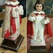 religious statue restoration