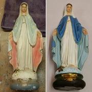 antique religious statue repair