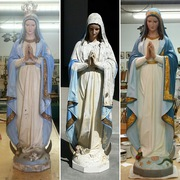 Daprato Statue repair