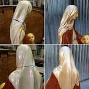 plaster statue repair